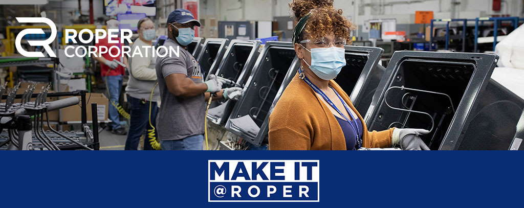 Make it Roper manufacturing assembly line photo